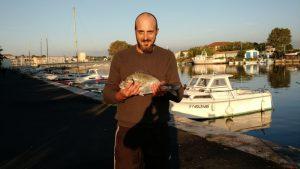 Dorade d'1kg500 à Sète